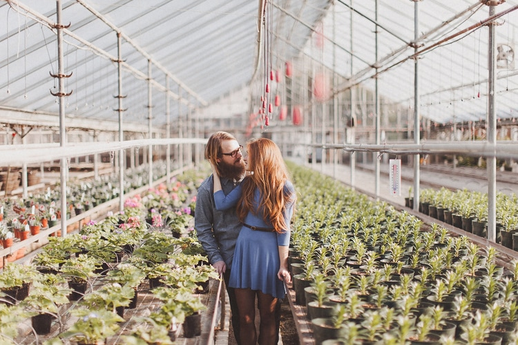 Greenhouse Engagement | Natalie + Will