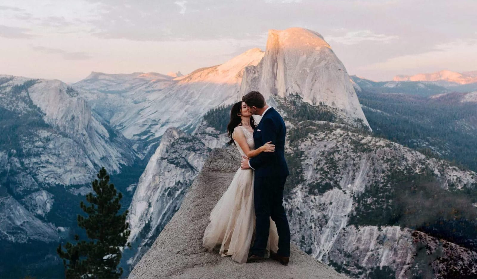 portland oregon elopement photographer dylan m howell couple kissing in nature