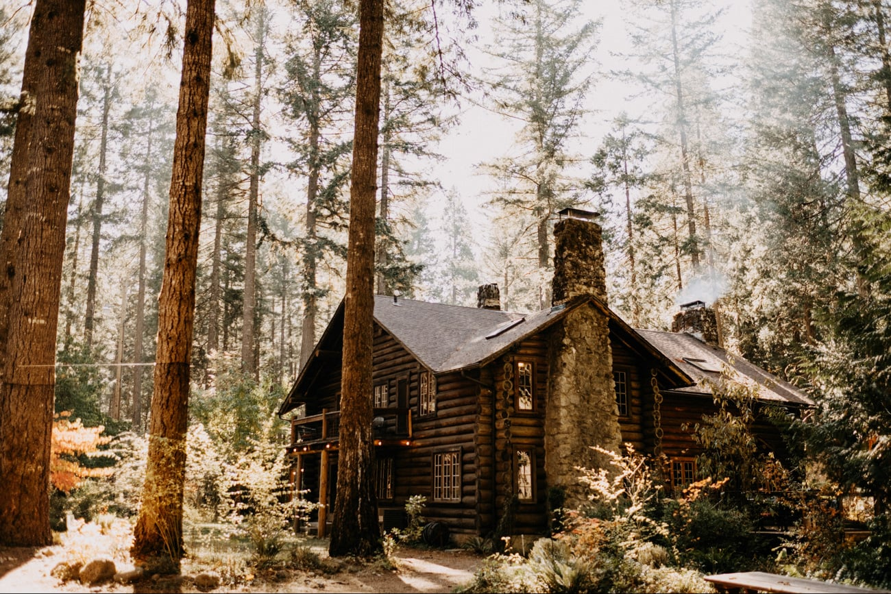 loloma lodge on the Mckenzie River near Bend, OR.